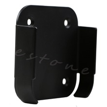 цена на High Quality 1Pc Wall Mount Case Bracket Holder Tray Black For Apple TV 2 3 & AirPort Express