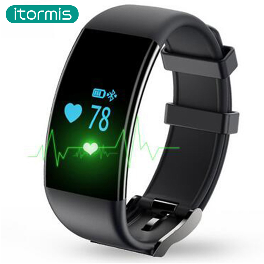 itormis B21 SmartBand Fitness Bracelet PK mi band 2 Heart Rate Monitor Pedometer Fitness Tracker Activity