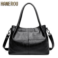 Famous Brand Ladies Hand Bags PU Leather Women Bag Casual Tote Shoulder Bags 2017 Sac New