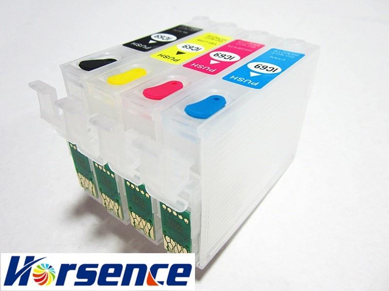 T125 пустой многоразового для Epson Стилусы NX420 NX125 NX127 NX230 nx530 NX625 WorkForce 320 323 325 принтер с ARC чип t1251