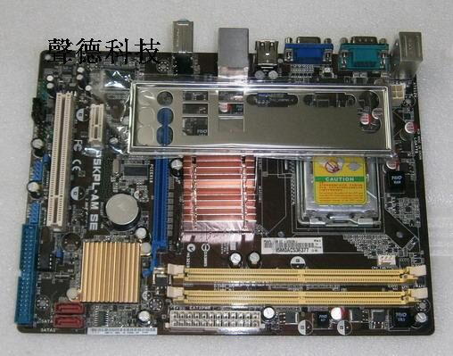 ФОТО Free shipping original motherboard for P5KPL-AM SE DDR2 LGA 775 SATA II USB2.0 G31 Desktop Motherboard