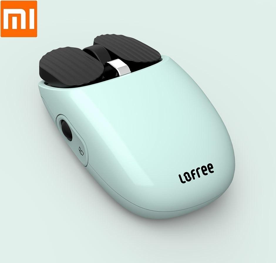 Selbstbewusst, Befangen, Gehemmt, Unsicher, Verlegen Xiaomi Youpin Lofree Bluetooth Wireless 2,4g Maus Bluetooth 4,0 Dual Modus Verbindung 5-geschwindigkeit Dpi Laptop Büro Maus Duftendes Aroma