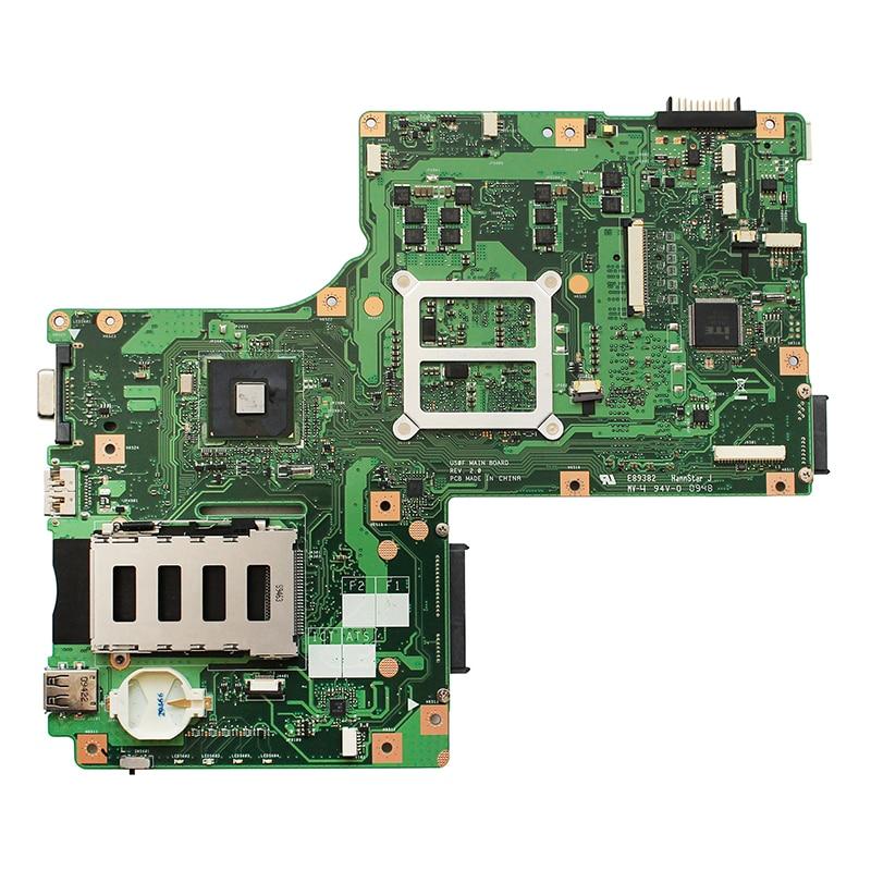 Original For ASUS U50F U50 REV2.0 laptop notebook motherboard HM55 DDR3 PGA989 100% fully Tested Free shipping 1