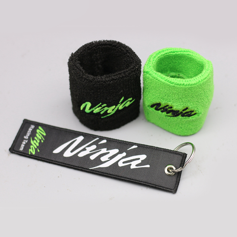 Color : 1 PCS BACK NINJA Keyring Motorcycle Ninja Logo Brake Clutch Fluid Oil Reservoir Cover Sock Sleeve For Kawasaki Ninja ZX6R ZX10R 250 ZX 650 Accessories /& Parts