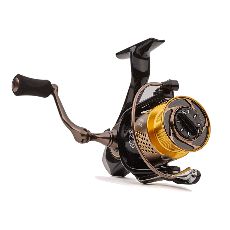 Original RYOBI Spinning Fishing Reel 6BB/5.1:1 LEGEND (SLAM) 1000-6000 Spinning Reel Carretes Pesca Moulinet Peche Carretilha 8
