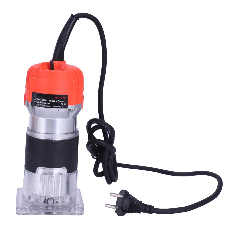 New 620W 220V Wood Trim Router 6.35mm Collection Diameter Electric Manual Trimmer Woodworking Laminated Palm Router Tools