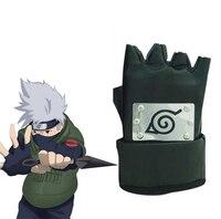 Free Shipping Naruto Hatake Kakashi Konoha Ninja A Pair Of Black Gloves Anime Cosplay Accessories