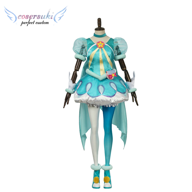 Star Twinkle Precure Pretty Cure Hagoromo Lala Cure Milky Cosplay Carnaval Costume Halloween Christmas Costume