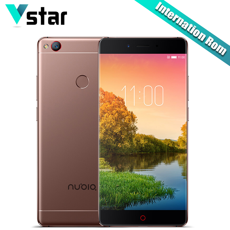 bilder für Internationalen Firmware Original Nubia Z11 Handy 5,5 Zoll 6G RAM 128G ROM Löwenmaul 820 Quad Core 16.0MP fingerabdruck NFC