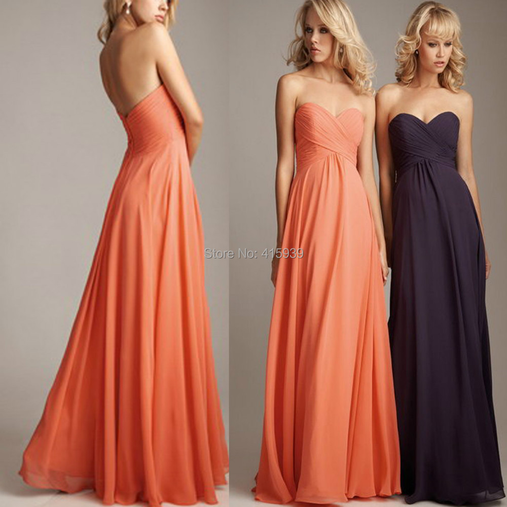 Image Result For Peach Dresses For Weddings