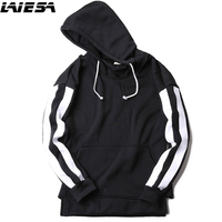 LIESA 2017 Fashion Hooded Funny Solid Colors Men And Women Hoodies Fitness Streetwear Hip Hop Tracksuits