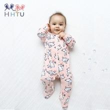 HHTU Baby Rompers Long Sleeve Cotton Infantis Clothing Newborn Boy Girl Costume Cartoon Spring Autumn Jumpsuit