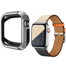 Protector Cover For Apple Watch 4 case 40MM 44MM iwatch band series 4 Silicone P
