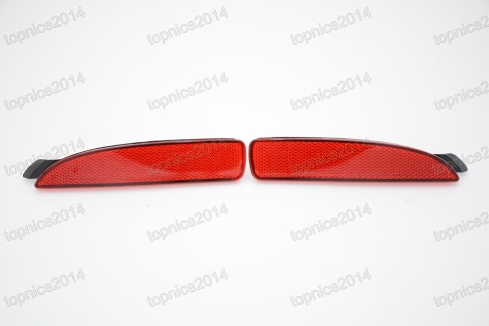 1 par de luces rojas de la luz trasera de la luz antiniebla - Luces del coche