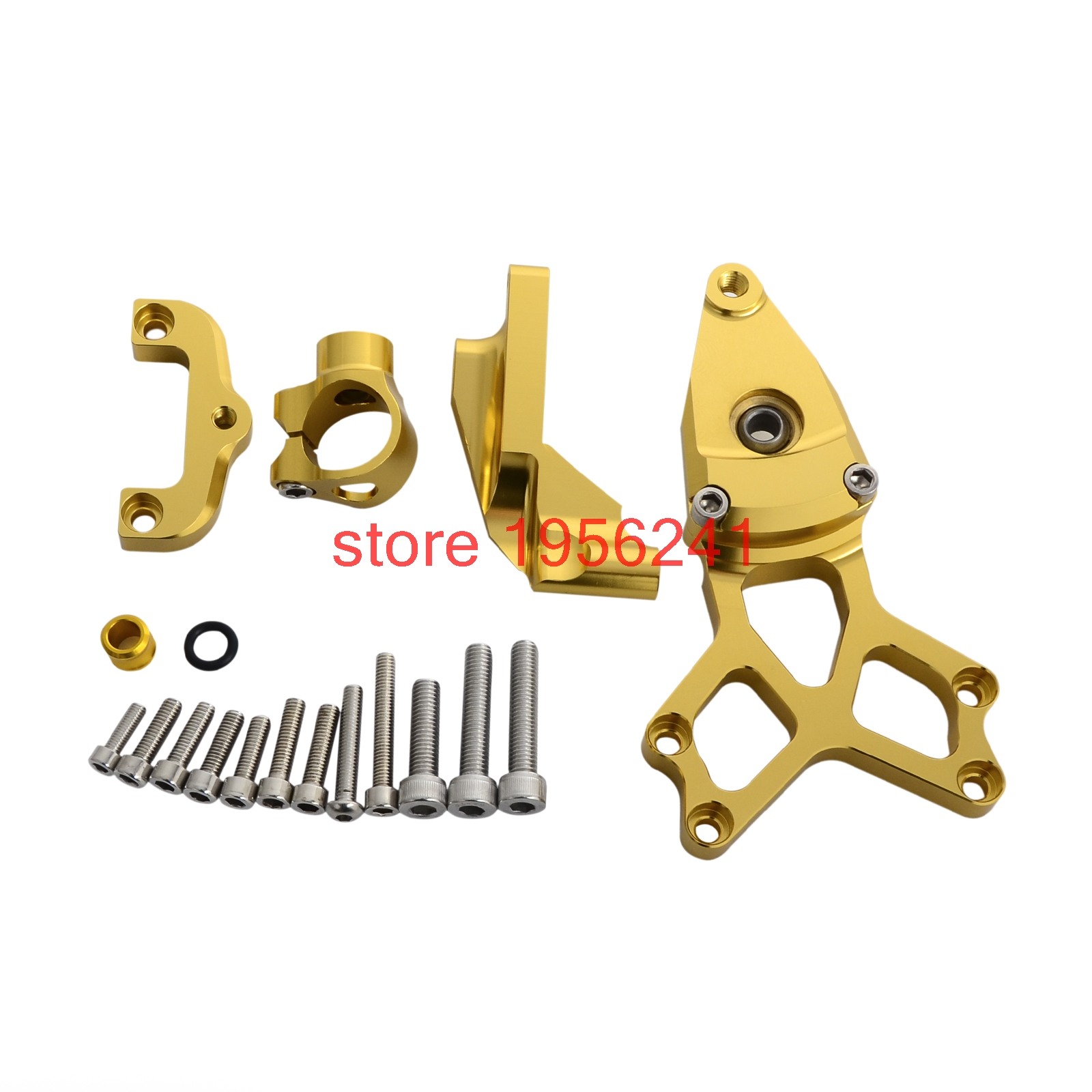 Steering Damper Mounting Bracket Kit For Honda CBR1000RR ABS SP 2008 - 2016 2010 2012 2014 215 CBR 1000RR CBR1000 RR NEW arashi motorcycle radiator grille protective cover grill guard protector for 2008 2009 2010 2011 honda cbr1000rr cbr 1000 rr
