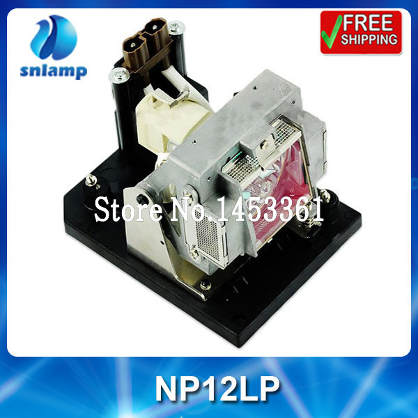 Hot sale compatible projector lamp bulb NP12LP for NP4100 NP4100W NP4100-09ZL replacement projector lamp np12lp 60002748 with housing for nec np4100 np4100w np4100 09zl np4100w 06fl np4100w 07zl