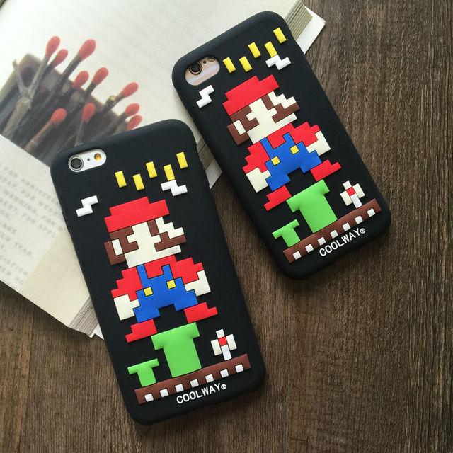 Super Mario 8 Bit iPhone Case