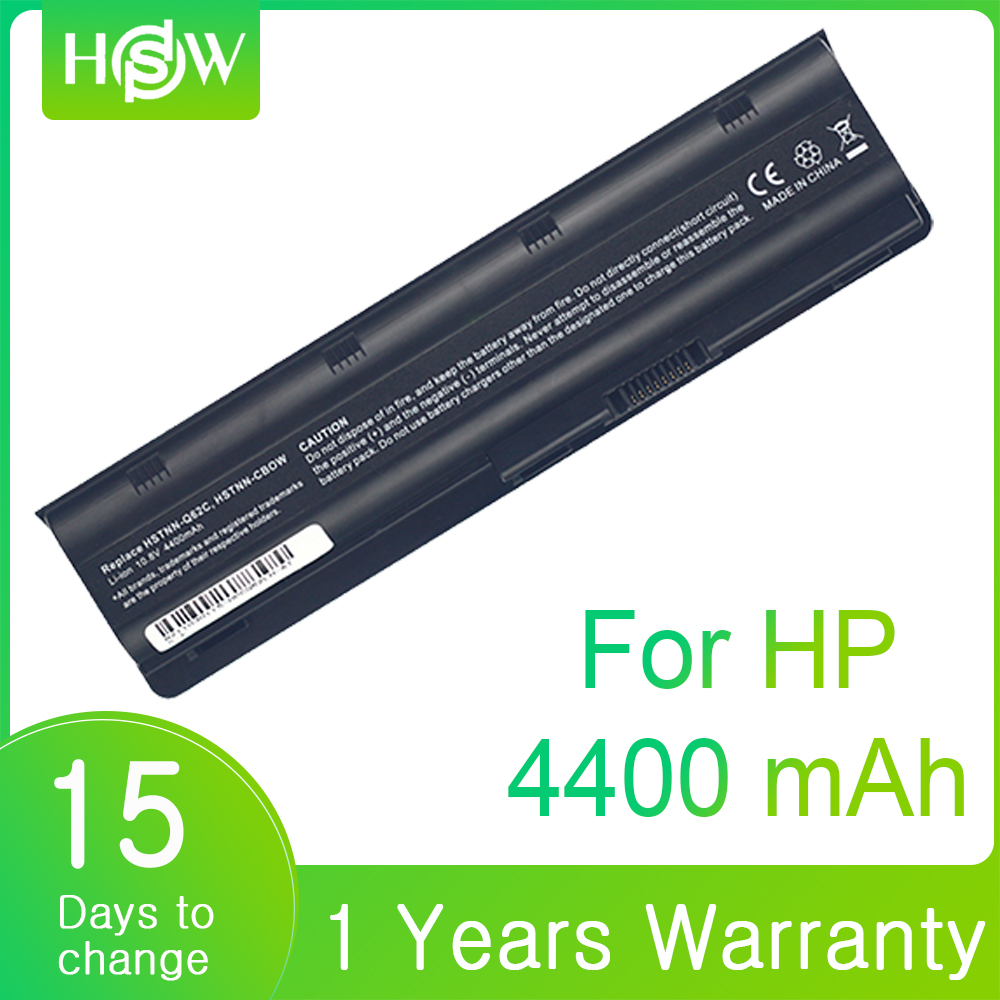 6Cells Laptop Battery For HP Pavilion MU06 G4 G6 G7 G32 G42 G56 G62 G72 G62T CQ42 CQ43 CQ56 CQ57 CQ62 CQ72 DM4 Notebook Battery image