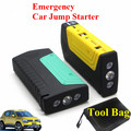 High Power 12V Emergency 9000mAh Car Jump Starter Multi-Function 2USB 2.0A Output Power Bank SOS Lights Safety Hammer Free Ship