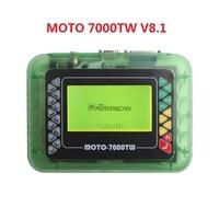 Профессиональный универсальный инструмент мотоцикл сканирования MOTO 7000TW сканер нескольких языках SW V8.1 мотоцикл диагностический инструмен