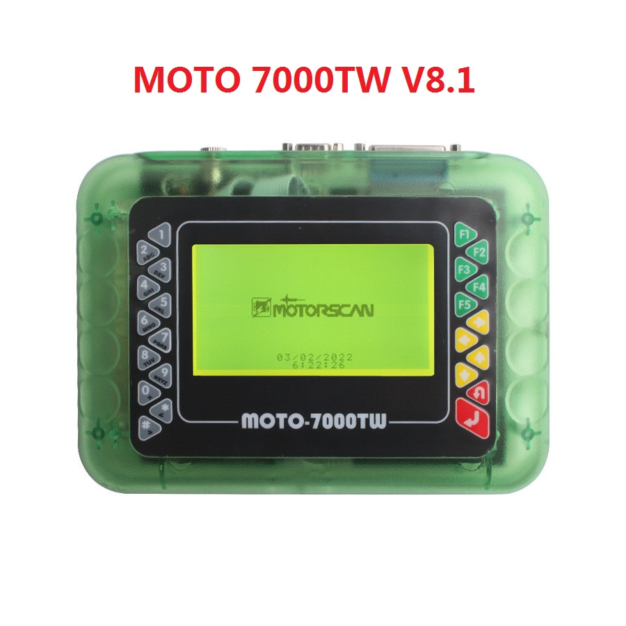 Professional Universal Motorcycle Scan Tool MOTO 7000TW Scanner Multi languages SW V8.1 motorbike Diagnostic Tool
