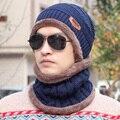 Мужская шляпа мужской Корейской зимой осенью и зимой шерсть шляпа, трикотажные hat cap рукав шапка Баотоу молодых Корейских мужчин