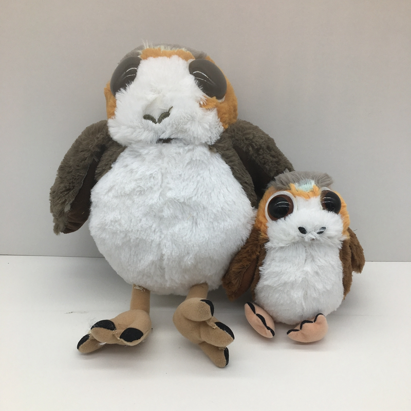25CM Star Wars Porg Bird Stuffed Plush Animals Doll Toy For kids Gifts yoda plush 1pc 922cm star wars figure plush toy aliens yoda soft stuffed plush doll toy kawaii toy for baby
