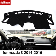 HochiTech for mazda mazda 3 2006-2016 dashboard mat Protective pad Shade Cushion Photophobism Pad car styling accessories