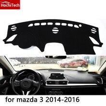 HochiTech para mazda mazda 3 2006-2016 dashboard mat Cojín Pad Photophobism almohadilla Protectora Sombra car styling accesorios
