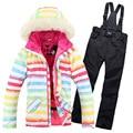 2017 baojee Brand new jaqueta feminina inverno female skiing jackets woman ski coat snowboard ski suit women snow wear jacket