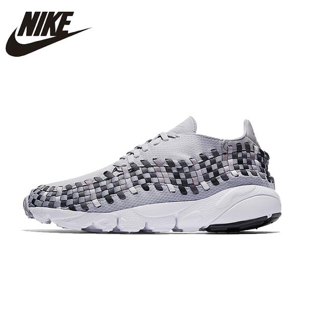 Nike Air footsczpe тканые Для мужчин S Кроссовки сетки дышащая обувь супер легкий открытый Спортивная обувь для Мужская обувь #875797