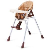Детский низкий стул детский Hihgchair портативный стул для кормления портативный складной детский стол и стул детский обеденный стул