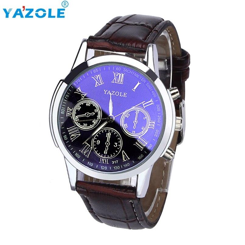 YAZOLE Wrist Watch Men Top Luxury Famous Wristwatch Male Clock Quartz Watch Hodinky Quartz Watch Relogio Masculino s7