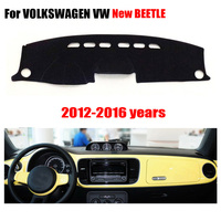 Car Dashboard Covers For VOLKSWAGEN VW New Beetle 2012 2016 High Configuration Left Hand Drive Dashmat