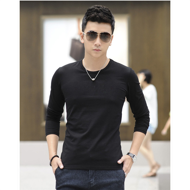 Online Get Cheap White Cotton Thin Long Sleeve T Shirt -Aliexpress ...