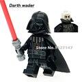 PG633 Darth Vader Con Red Star Wars Lightsaber Nueva Versión Sola Venta mini Bloques de Construcción Para Niños Juguetes de Regalo