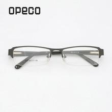 Opeco big sale mens classical eyeglasses including prescription lenses eyewear RX recipe male frame spectacles #1816