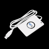 1pcs USB ACR122U NFC RFID Smart Card Reader Writer For All 4 Types Of NFC ISO