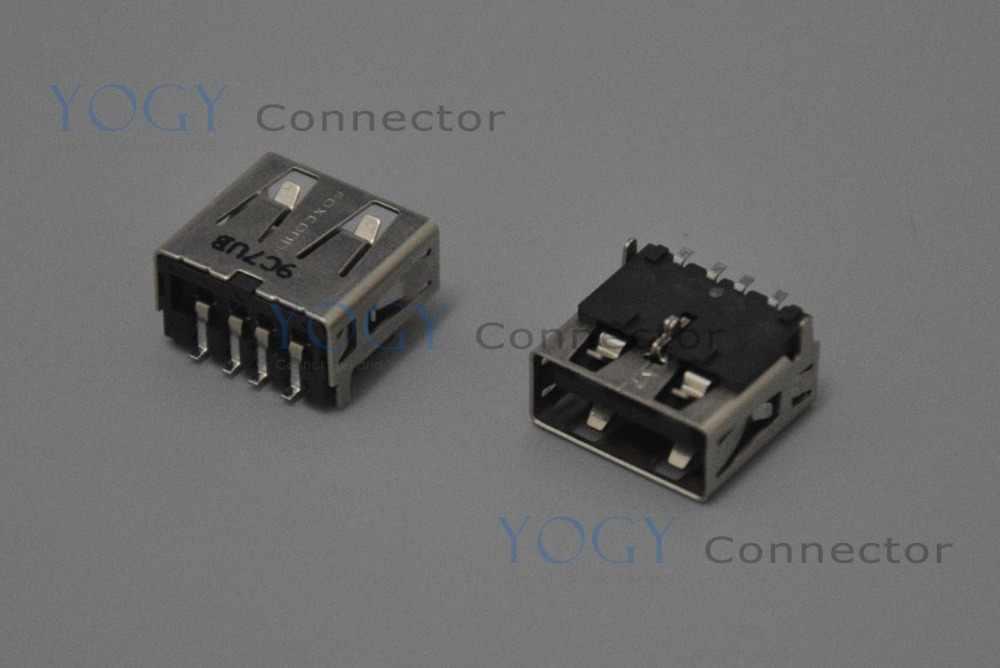 10 шт. 12 мм гнездо разъема USB, обычно используется в hp DELL ASUS LENOVO, и другие Материнские платы ноутбука usb