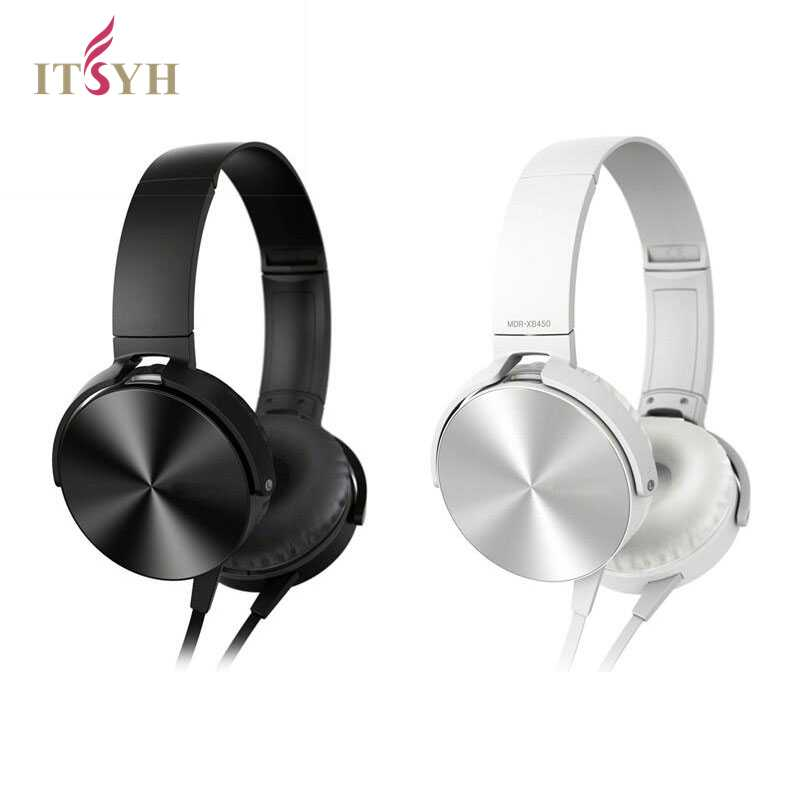 ITSYH Portable Headphones 3.5mm Wired Headsets with Micphone For mp3 mp4 Phone PS4 gaming Earphone 100% private brand TW-758 mymei best price new portable 3 5mm pillow speaker for mp3 mp4 cd ipod phone white