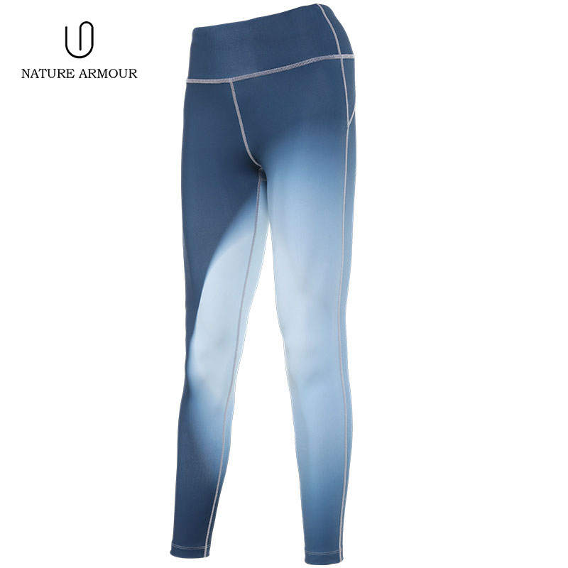 NATURE ARMOUR New print slim yoga pants stretch leggins sport women fitness running dry breathable sports pants for women разветвитель в прикуриватель ginzzu ga 4515ub 2 входа 3а 2 usb черный