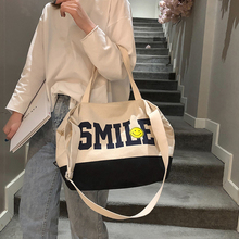 цена на New Hot  Fashion Women Shopping Bags Canvas Solid Hasp Fashion Women Hight Simple Design Healthy Tote Hand Bag