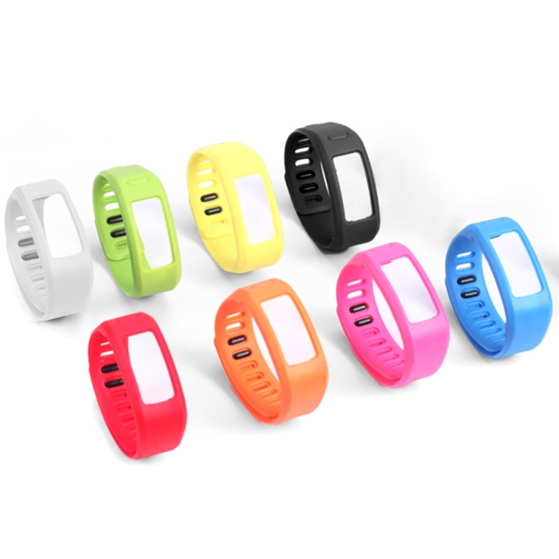 OOTDTY TPU Replacement Wristband Strap Tracker Band Bracelet For Garmin Vivofit 1/2 Smart Wristband
