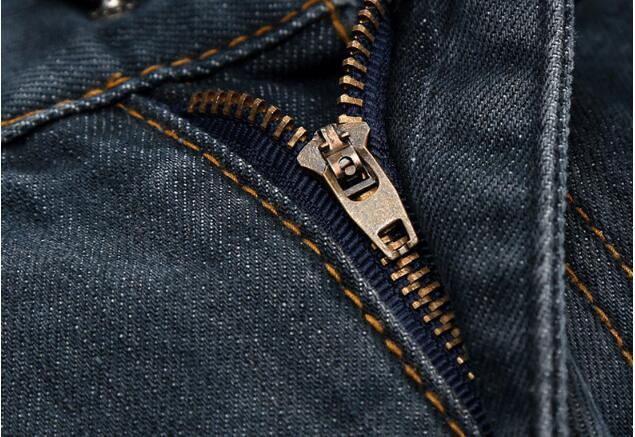 Black Blue Ripped Jeans For Men 4