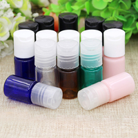 10 50 100pcs Mini DIY 5ml Plastic Refillable Packing Bottles With Chiaki Cap Empty Cosmetic Liquid