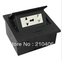 Multimedia socket / pop- socket / desktop hidden socket / multi-function socket / information interface box