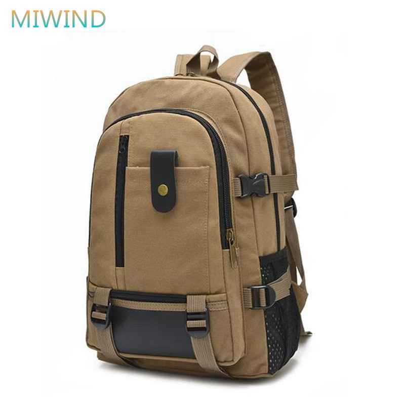 MIWIND 2017 High Quality School Bag Daily Canvas Backpack School Backpacks For Teenager Girls Boys Travel Shoulder Bag CB213 джемпер a a by ksenia avakyan a a by ksenia avakyan aa001ewzxt26