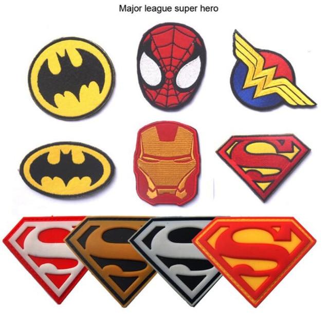Нашивки героев Марвел и DS Comics 1
