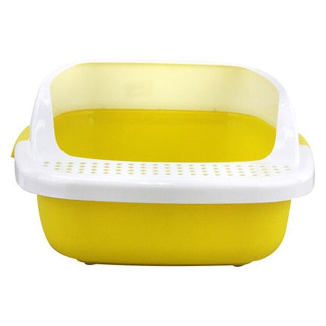 Litière Pour chat Toilettes Pot Formation Kit Fermé Hamster Salle De ...