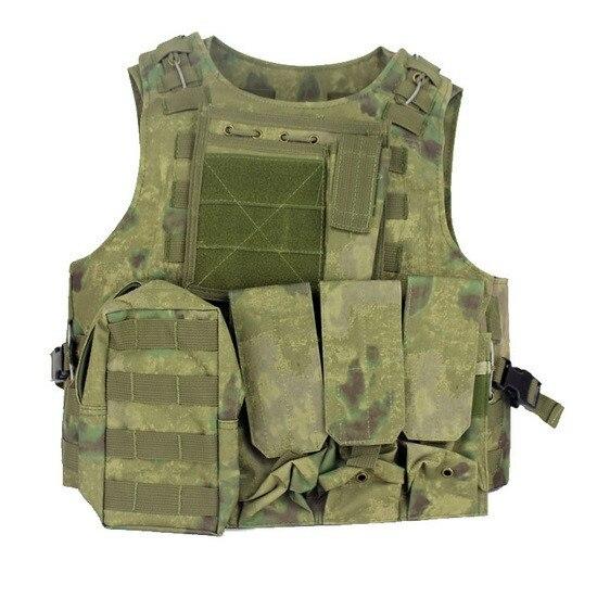 Gilet tactique militaire assaut Airsoft SAPI plaque transporteur Multicam armée Molle Mag munitions poitrine Plate-forme Paintball corps armure harnais